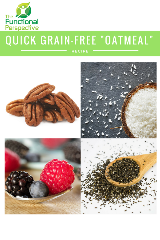 Super easy grain-free 'oatmeal'